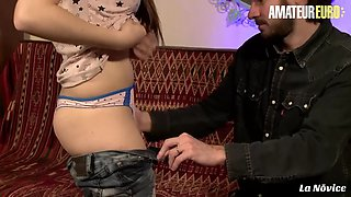 LA NOVICE - Luna Rival and Mickael Cheritto - Hardcore Afternoon For A Sexy Ass Brunette