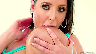 Angela White is a stunning MILF who knows how to make a dick stiff