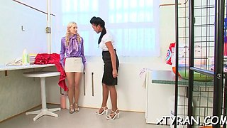 mistress gets feet licked bdsm film 1