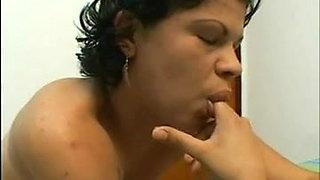 Asshole pleasures - Brazilian ass licking lesbians