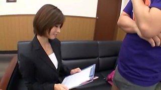 Fabulous Japanese slut Akari Asahina in Hottest JAV scene