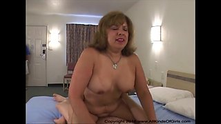mature mexican milf gets anal abused
