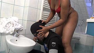 toilet slave of a ebony mistress
