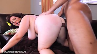 BBW Lubed Then Screwed