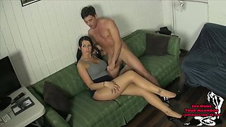 Released from Chastity ALEXIS GRACE EDGING TUGJOB