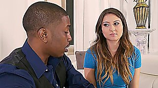 Black Couples and the Virgin Babysitter bliss dulce & yasmine de leon