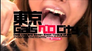 Slutty Japanese teen is addicted to rough sex and hot jizz