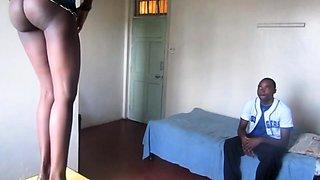 Genuine African Amateur Couple Hardcore Sex Tape