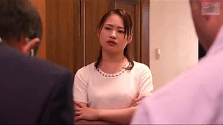 Japonese wife have a affair with a neighbour