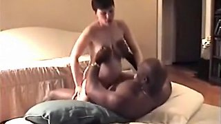 My pregnant cuckold wife breeded by a black bull is fucking him again