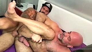 Romeo Davis fucks Adam Russo daddy likes it big