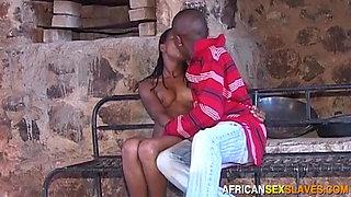 Innocent Black Teen Fucked In Dungeon