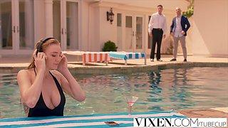 VIXEN Kendra Sunderland Cheats With Her Boss
