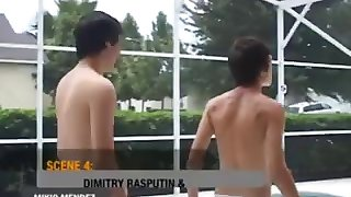 Daddy violates young twink