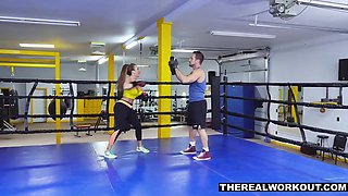 Busty Milf Knocks Out Her Trainer With Richelle Ryan And Johnny Castle