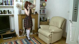 Schoolgirl Ludella