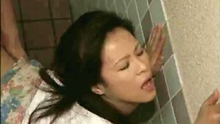 2 japan milf swap their husbands in public toilet - 2 on hdmilfcam.com