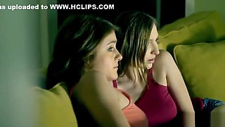 Teen Sister alice march Blackmailed By Her Step Brother