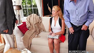 Frankie And The Gang Tag Team A Door To Door Saleswoman - Raylin Ann