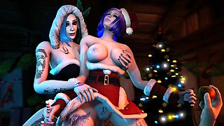 Hot Video Games Whores Gets Thumped by a Big Thick Cock