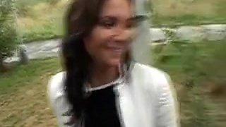 Fabulous Amateur clip with Brunette, Czech scenes