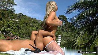 Loupan & Angel Lima in Flirty angel Video