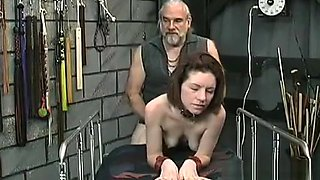 Large boobs babe hard fucked in extreme thraldom xxx scenes