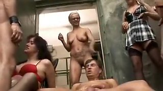German Piss Orgy