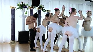 Glasses orgy first time Ballerinas