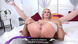 Seriously MESSY Anal Creampie For New Bride