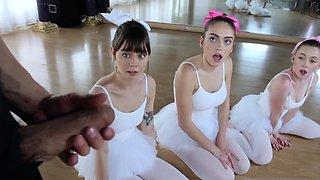 Teen lost her virginity Ballerinas