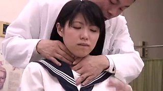 Japanese EP2 Mother and Daughter Hospital Visit, Male Doctor 1 of 2