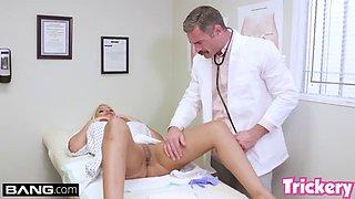 Trickery milf bridgette b has sex with her big dick doctor