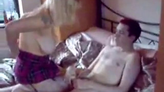 NastyPlace.org - Mom Fucking Young Son in Homemade Sextape