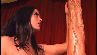 extreme big anal dildo