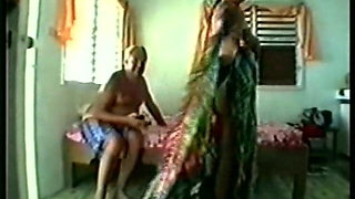 old man and Thai wife