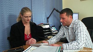 Amateur wife Alana C wanted to be gangbanged by her coworkers