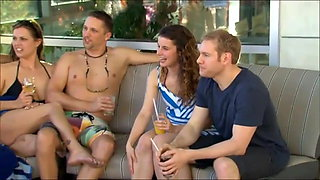 New young couple goes to a swingers party for the first time
