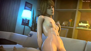 Hot Characters from Games Perfect 3D Sex and Anal