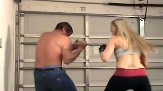 Mixed wrestling Cassidy - cassfacebust