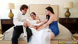 Threesomes during the wedding are the best
