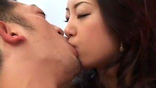 Incredible Japanese girl Satomi Suzuki in Amazing Secretary, Handjobs JAV movie