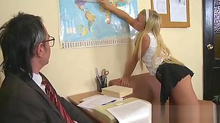 Lusty offering for old teacher