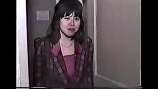 Japanese classic porn model audition