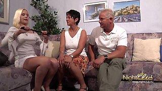 Opa und Oma ficken Stieftochter
