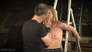 Teen is tied up and fucked gets punished spanked kinky