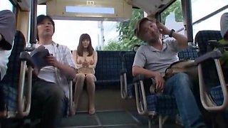 Horny Japanese girl Yuma Asami in Best Cunnilingus, Handjobs JAV clip