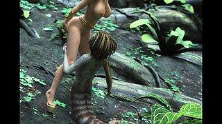 3D Busty Creatures Built For Sex!