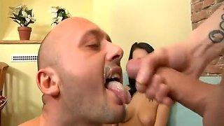 Crazy homemade Cumshots, Big Dick sex scene