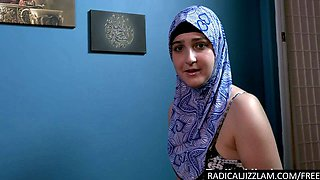 Cheating arab lashed and mouth fucked